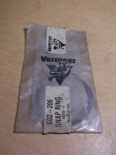 NEW Vermeer Snap Ring 602-206  *FREE SHIPPING*