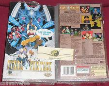 VHS MANGA-FINAL FANTASY 2 SEQUEL GIOCO V-ANIME INEDITO DVD  fire emblem,suikoden