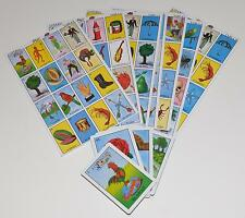 MEXICAN LOTERIA BINGO CARDS GAME 10 PLYAERS AUTHENTIC 10 BOARDS 54 CARDS NEW