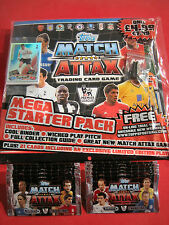 MATCH ATTAX Premier League 11/12 Starterpack Mappe OVP Limitierte + 10 Booster