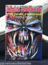 "Iron Maiden Concert Poster 2"" X 3"" Fridge / Locker Magnet. Eddie"