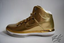 BRAND NEW NIKE AIR JORDAN XXXI GOLD US 8 XXX1 31 NOLA # 1 OF 23 PAIRS 31 KARAT