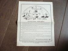 MAGIE 1937 PUBLICITE POUR LA MAISON  A. MAYETTE PRESTIDIGITATION