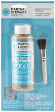 Martha Stewart Crafts Glass Etching Cream & Applicator Brush 33222
