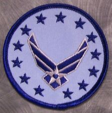 Embroidered Military Patch USAF Air Force Wings Logo NEW