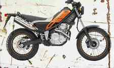 Yamaha Tricker XG250 2005 Aged Vintage SIGN A3 LARGE Retro