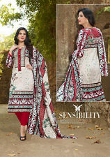 Printed Lawn Cotton Salwar Kameez Multi Color Unstiched Casual Use Material