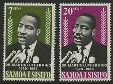Samoa   1968   Scott #298-299   MNH Set