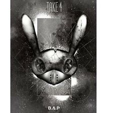 B.A.P[BAP] RECORDING TAKE 4-LIMITED EDITION [PHOTOBOOK+DVD]+1 PLASTIC PHOTO CARD
