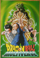 DRAGON BALL POSTER GOKU BROLY  42x29 CM NEW