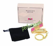 Modern Muse Estee Lauder Solid Perfume Key Chain 0.4oz/1.35g New In Box