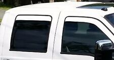 Painted OEM Color Matched Rain Guard Vent Visors All Vehicles Sedan Coupe Crew