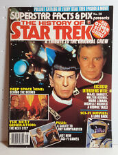 1993 History of Star Trek Magazine- Superstar Facts & Pix #28- UNREAD- FREE S&H