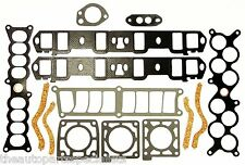 INLET MANIFOLD GASKET SET INC PLENUM - FORD FALCON EB-EF,EL,AU 5.0L WINDSOR