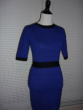 Sexy Forever 21 Bandage Dress, Stretch Rayon, Violet Blue, Occasion Sz M