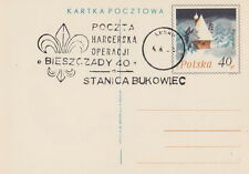 Poland postmark LESKO - scouting Stanica Bukowiec