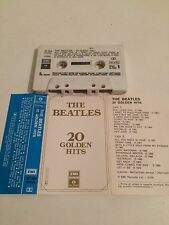 Beatles - 20 Golden Hits MC Cassette Tape Ita Press