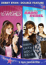 Debby Ryan Double Feature (16 Wishes/Radio Rebel) - 2 DISC SE (2014, DVD New) WS