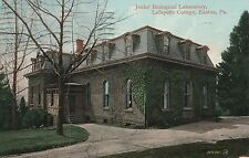 Jenks Biological Laboratory at Lafayette College in Easton PA 1910