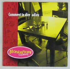 Montefiori Cocktail CD's interprète Serge Gainsbourg 2003