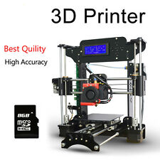 New Reprap Prusa i3 XY-100 3d Printer  with 8G card&LCD Screen+1 Roll Filament
