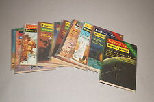 1950'S - 1970'S SCIENCE FICTION PULP DIGEST GROUP LOT OF 10 (INVENTORY NO. 007)