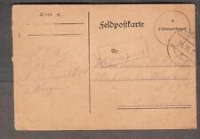 1917 WWI Feldpostkarte KD 2 Komp J.-R 79 to Hamburg
