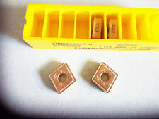 New 4 Pcs - CNMG 433FN  Grade KC9110  Gold Coated Inserts Kennametal