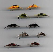 Trout Flies: Stonefly Nymphs size 8 & 10 assorted  (code 007)