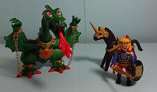 Playmobil Magic ~ Grüner Drache,Prinz & Pferd/Green Dragon, Prince & Horse(3840)