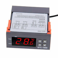 Digital STC-1000 All-Purpose Temperature Controller Thermostat With Sensor B9