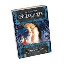 NETRUNNER OVERDRIVE CORPORATION DRAFT PACK GAME BRAND NEW & SEALED CLOSEOUT!!