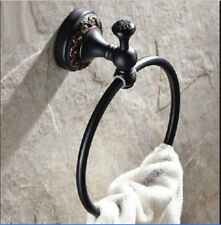 NEW Wall Mounted Towel Rack Holder Bathroom Oil Rubbed Bronze Towel Ring