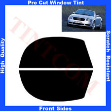 Pre Cut Window Tint Audi TT-Cabriolet  1999-2006 Front Sides Any Shade