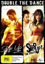 Step Up / Step Up 2 - The Streets (DVD, 2008, 2-Disc Set)=NEW R4