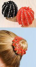 Haarring mit Glitzer für Pferdeschwanz oder Dutt Haarschmuck Haarringe Haar Ring