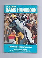 1971 Los Angeles Rams Handbook