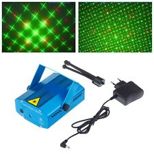 DJ Disco Light Stage Mini Projector R&G Party Laser Lighting blue shell HOT+BOX
