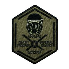 "Star Wars ""Death Trooper Imperial Guard"" Badge Iron-On Patch Accessory Applique"