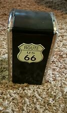 50's Style Diner Table Top Restaurant Route US 66 Metal Napkin Holder Dispenser.