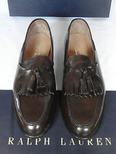 NEW Ralph Lauren CORDOVAN CRUP Loafer Shoe by Crockett & Jones UK 9 E RRP £620