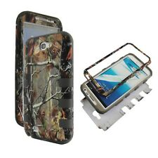 camo Tree Silicon Cover hybrid COMBO CASE for Samsung Galaxy Note 2 II N7100