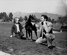 RARE STILL AUDIE MURPHY WITH HIS DOG #3