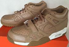new Nike Air Trainer III 3 PRM Premium QS 709989-200 Subdued Gum Shoes Men's 13