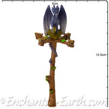 New Vivid Arts - Miniature World- Miniature Garden- Dragon Weather Vane -14cm