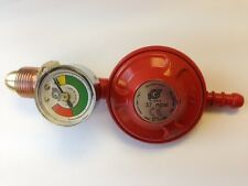 LPG Propane POL Regulator with Built In Level Gauge 37mbar