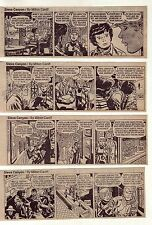 Steve Canyon by Milton Caniff - 24 daily comic strips from May 1971