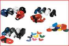 Proforce Martial Arts Karate Sparring Gear Set Head Foot Hand Pads Mouth + Case