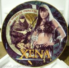 "XENA LIMITED EDITION CHINA COLLECTOR PLATE - ""AMAZON XENA"" #56 OF 500"