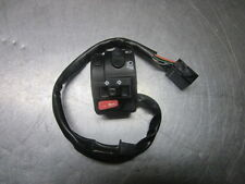 Triumph Speed 4 Four 600 Left Handlebar Switches Turn, Horn, Hi/Lo 2003 - 2006